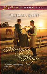 Marrying the Major -- Victoria Bylin